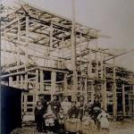 昔の柏 石戸家(京北スーパー)上棟式