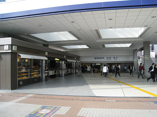 柏駅周辺 東部野田線-柏駅南口