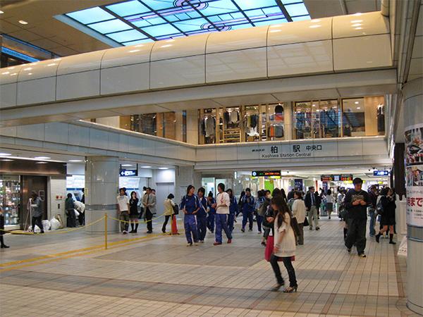柏駅周辺 東武野田線-柏駅東口