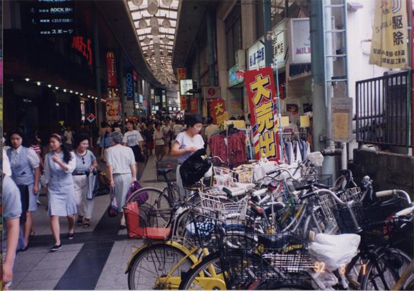 昔の柏 柏二番街 1992年