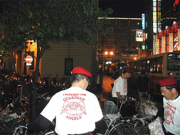 ガーディアンエンジェルス 放置自転車整理