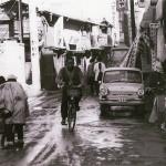 昔の柏 柏二番街dシマダ時計店前 1965年