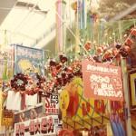 昔の柏 柏二番街イベント 1976年