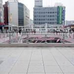 ダブルデッキ アートラインかしわ2011-テープ森かしわのわ-淺井裕介