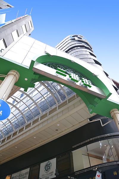 柏二番街 柏駅東口側入口